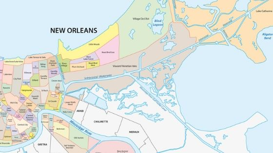 map new orleans districts A Local S Guide To New Orleans Neighborhoods Mid City map new orleans districts